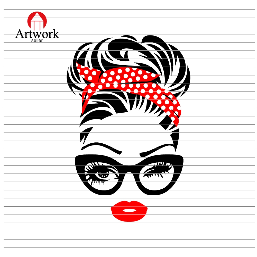 Messy Bun Svg Mom Life – 277+ File Include SVG PNG EPS DXF